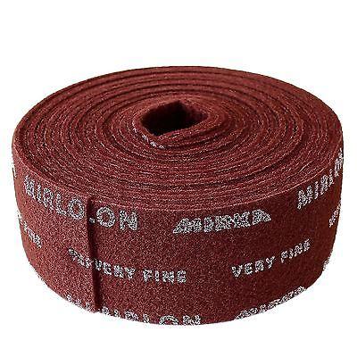 MIRKA MIRLON Roll Red Hand Pads