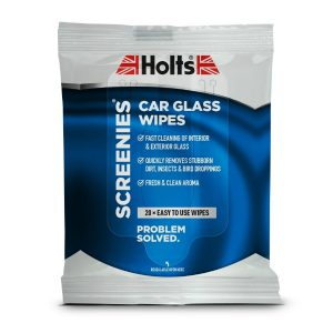 HOLTS SCREENIES CAR GLASS WIPES PACK (20 WIPES)