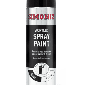 SIMONIZ WHITE GLOSS AEROSOL 500ML