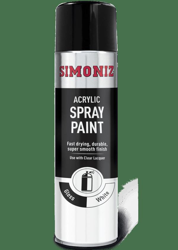 SIMONIZ WHITE GLOSS AEROSOL 500ML