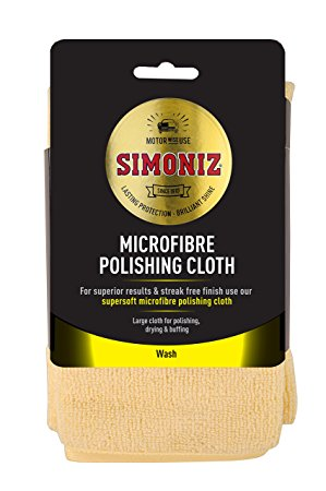 SIMONIZ MICROFIBRE POLISHING CLOTH