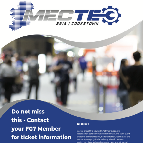 MecTec Cookstown:Register here to attend this top class automotive trade show