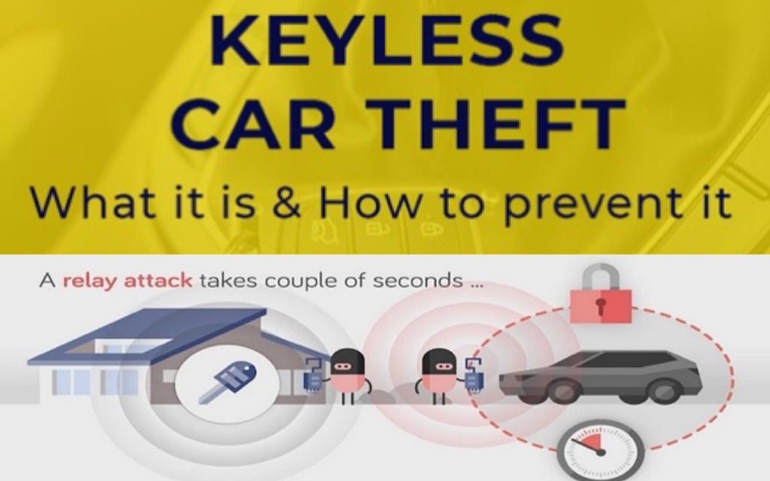 Keyless Car Theft- What it is & How to Prevent It!