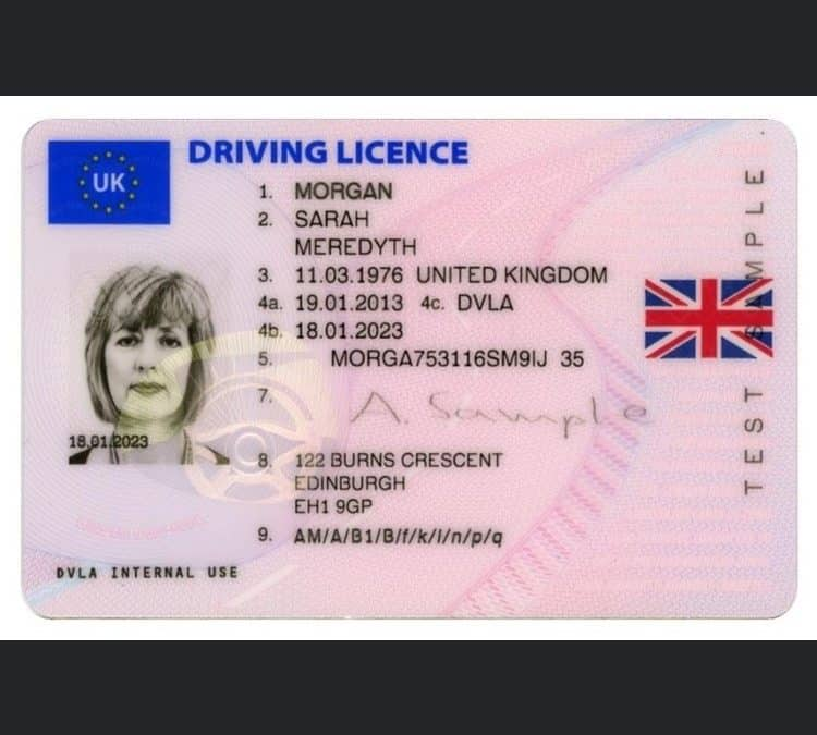 Driver Licence Update