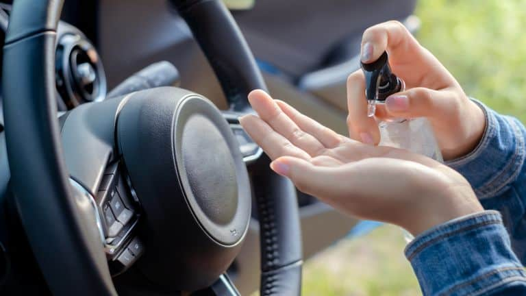 Alcohol-Based Hand Sanitiser and Vehicle Fires